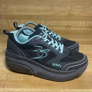 Gravity Defyer Gdefy Women's Sneakers Shoes Sz 8 Verso Shock Trampoline Black